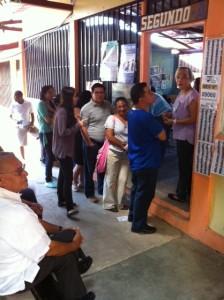 Voting centre La Kennedy